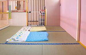 0歳児の部屋